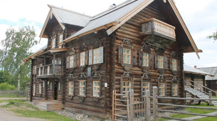 Шелтозерский вепсский этнографический музей им. Р. П. Лонина