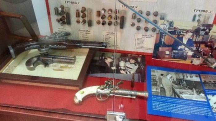 Музей криминалистики Алтайского государственного университета