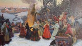 Масленица в старинных русских усадьбах
