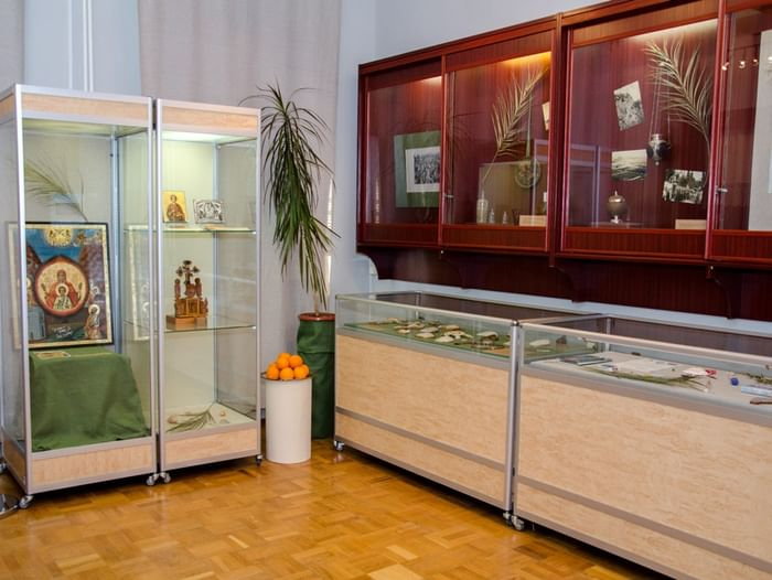 Выставка «Русские паломники на Афоне и в Палестине»