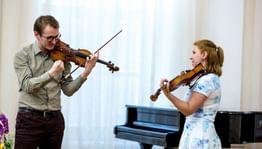 I Международный конкурс скрипачей Владимира Спивакова. Мастер-классы