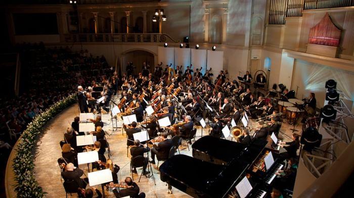 Национальный филармонический оркестр России, Владимир Спиваков, Александр Романовский