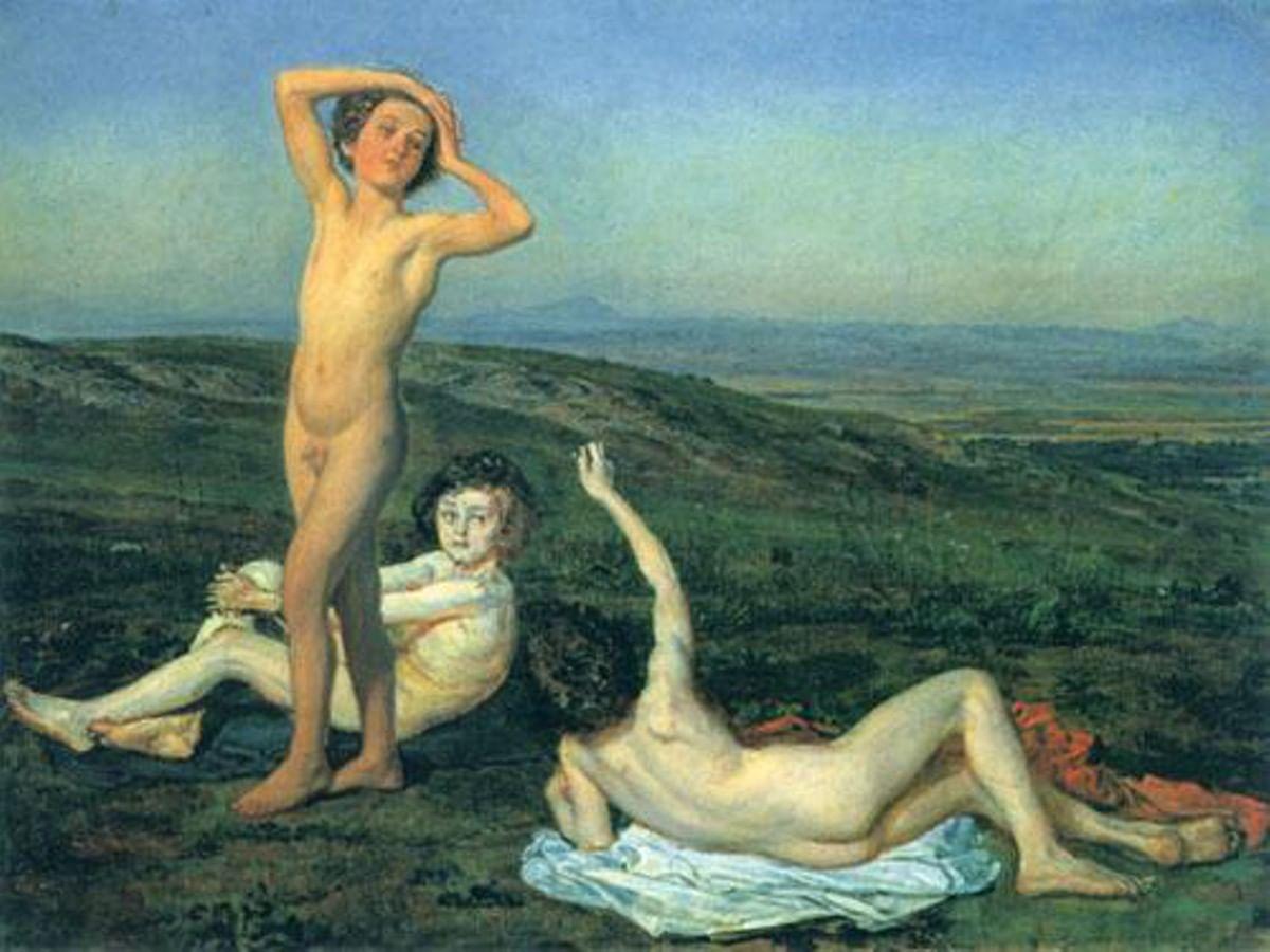 Фото голых мальчиков в женскои 16 фотография