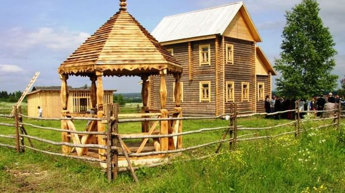 Мемориальный отдел им. Е. В. Честнякова в деревне Шаблово