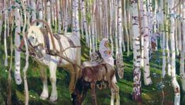 Русская береза. Дерево вдохновения ипоклонения