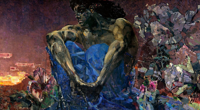 М. Врубель. Демон (сидящий). 1890. ГТГ