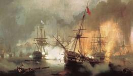 Гармония сражений: морские бои Айвазовского