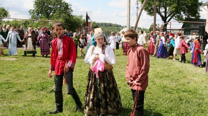 Престольный праздник Троицы в селе Безводное Кстовского района Нижегородской области