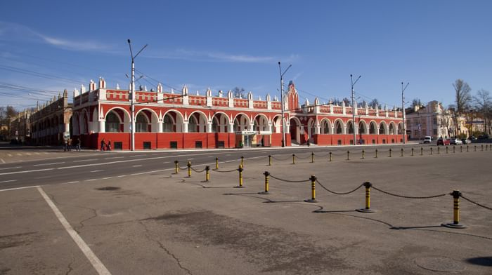 Здание Гостиного двора