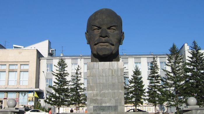 Памятник Ленину вУлан-Удэ