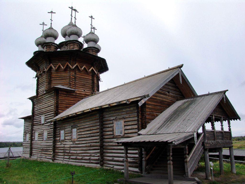 Церковь Покрова Богородицы на острове Кижи
