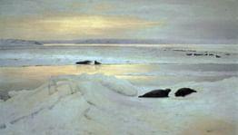 Краски, кисти, Арктика. Художественная экспедиция Александра Борисова