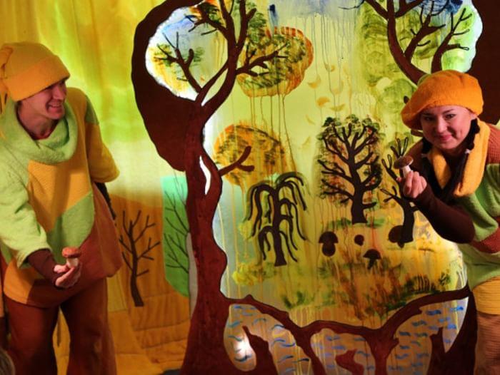 Спектакль «Театр на ладошке. Осень»