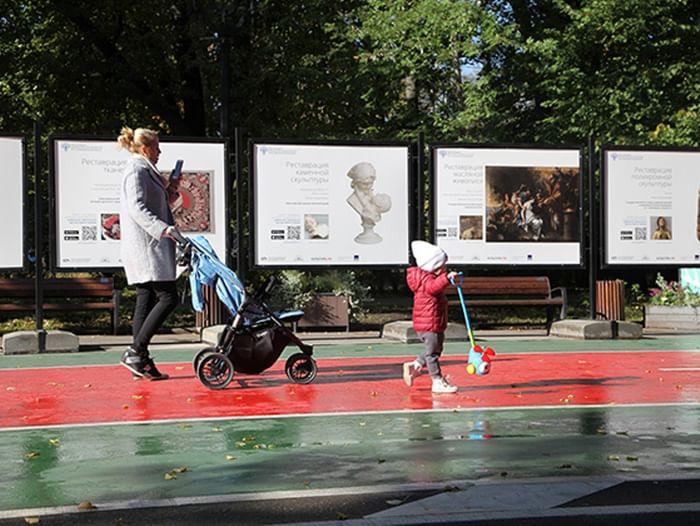 Выставка «Искусство реставрации»