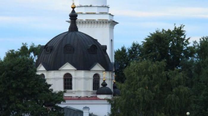 Храм Святаго благоверного князя Александра Невского в Усть-Ижоре