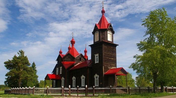 Храм Серафима Саровского в Турнаево Новосибирской обл.