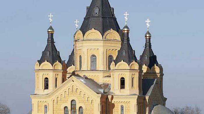Храм Александра Невского в Нижнем Новгороде (Новый Ярмарочный собор, Александро-Невский храм)