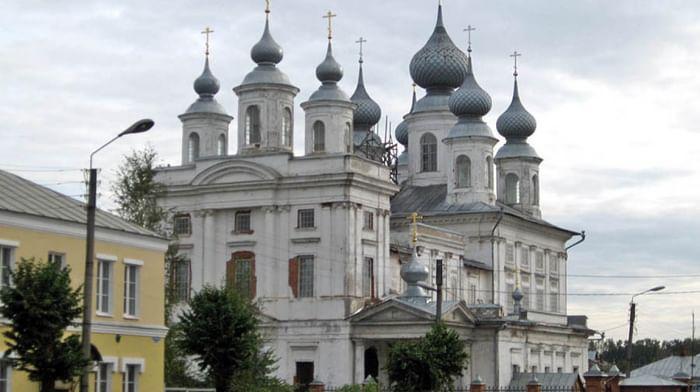 Собор Воскресения Христова в Шуе Ивановской области (Воскресенский собор)