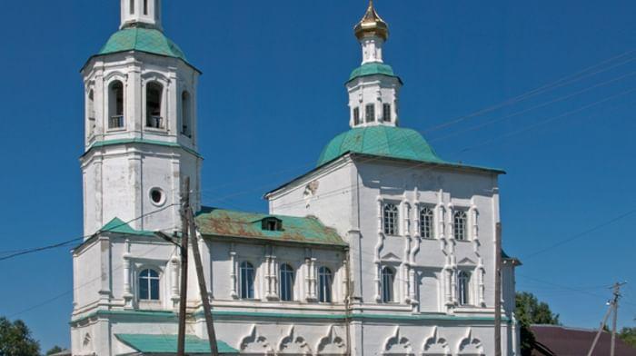 Собор Спаса Нерукотворного Образа в Таре Омской области
