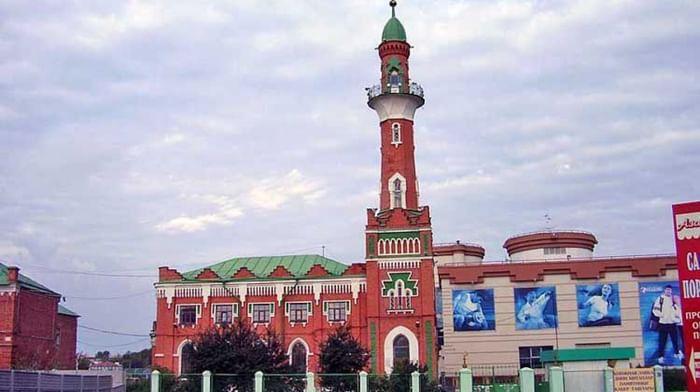 Закабанная мечеть имени Исхак хазрата в Казани