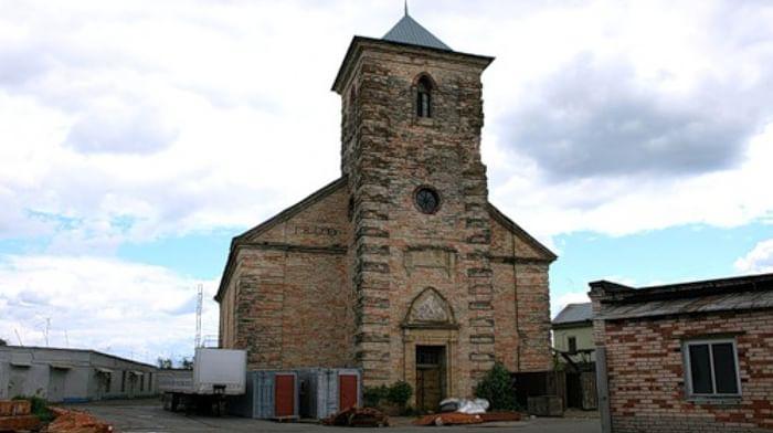 Евангелическо-Лютеранская кирха святого Петра в Колпанах