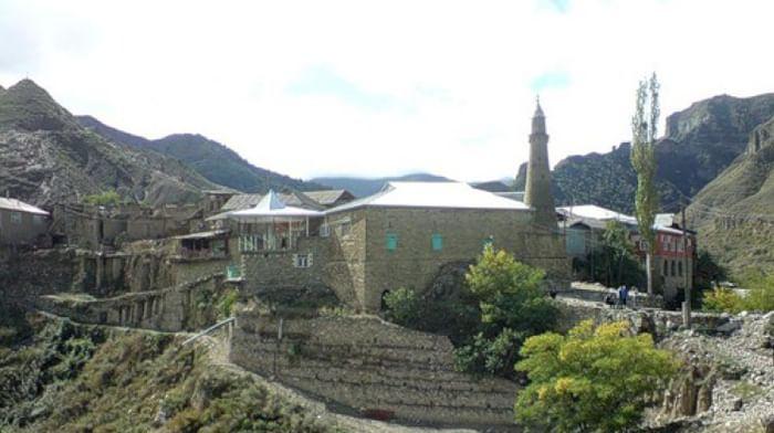 Мечеть в селе Корода Республики Дагестан