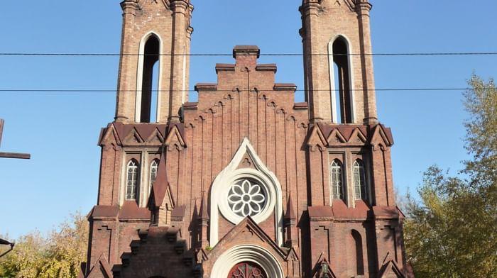Храм Преображения Господня в Красноярске