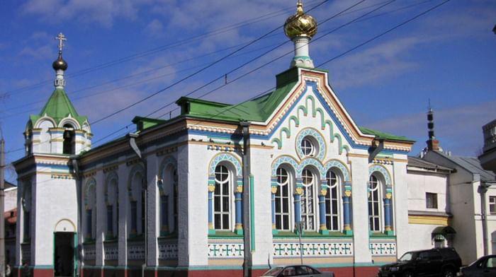 Храм святителя Николая, архиепископа Мирликийского, Чудотворца в Архангельске
