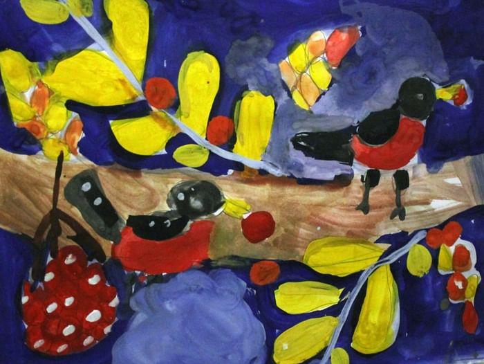 Выставка «Осенний листопад»