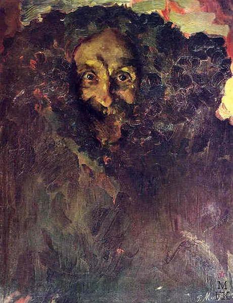 Филипп Малявин. Портрет скульптора Владимира Беклемишева. 1910