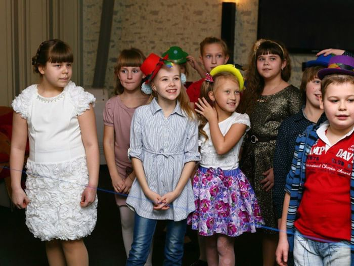 Открытый урок по курсам актерского мастерства для детей