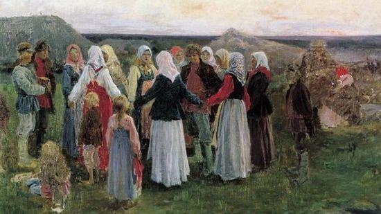 Хоровод. История и традиции