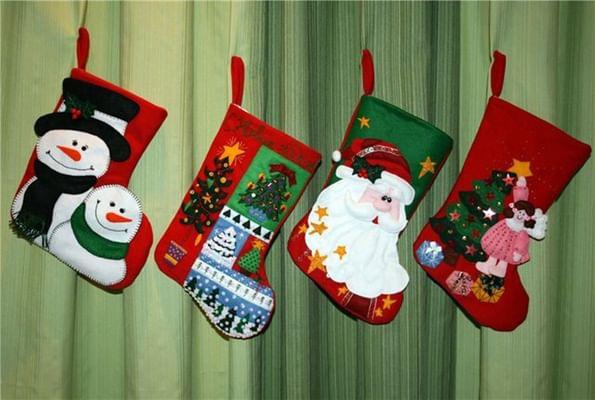 Сшить рождественский сапожок своими руками