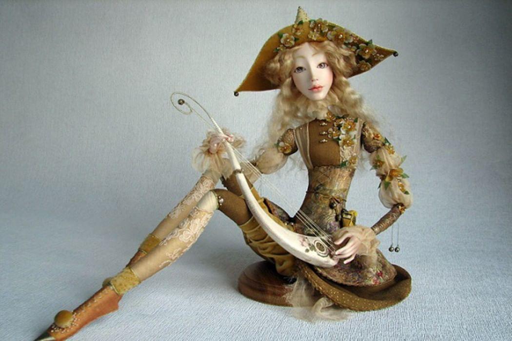 Своими руками куклы авторские куклы 42