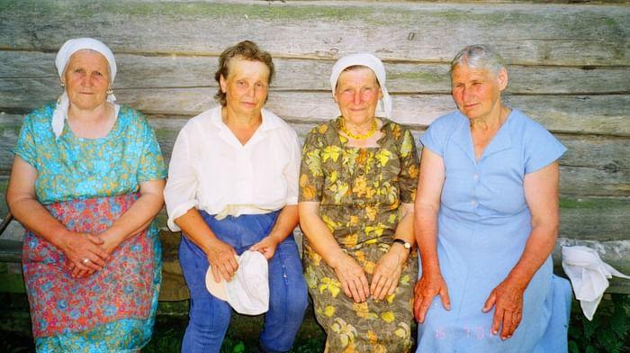 Пасхальные обходы дворов в Почепском районе Брянской области