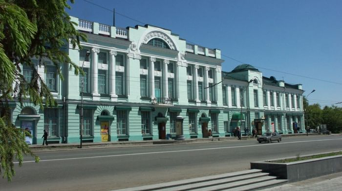 Омский областной музей изобразительных искусств им. М. А. Врубеля