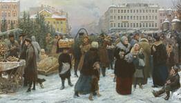 Рождественское дерево в России в первой половине XIX века
