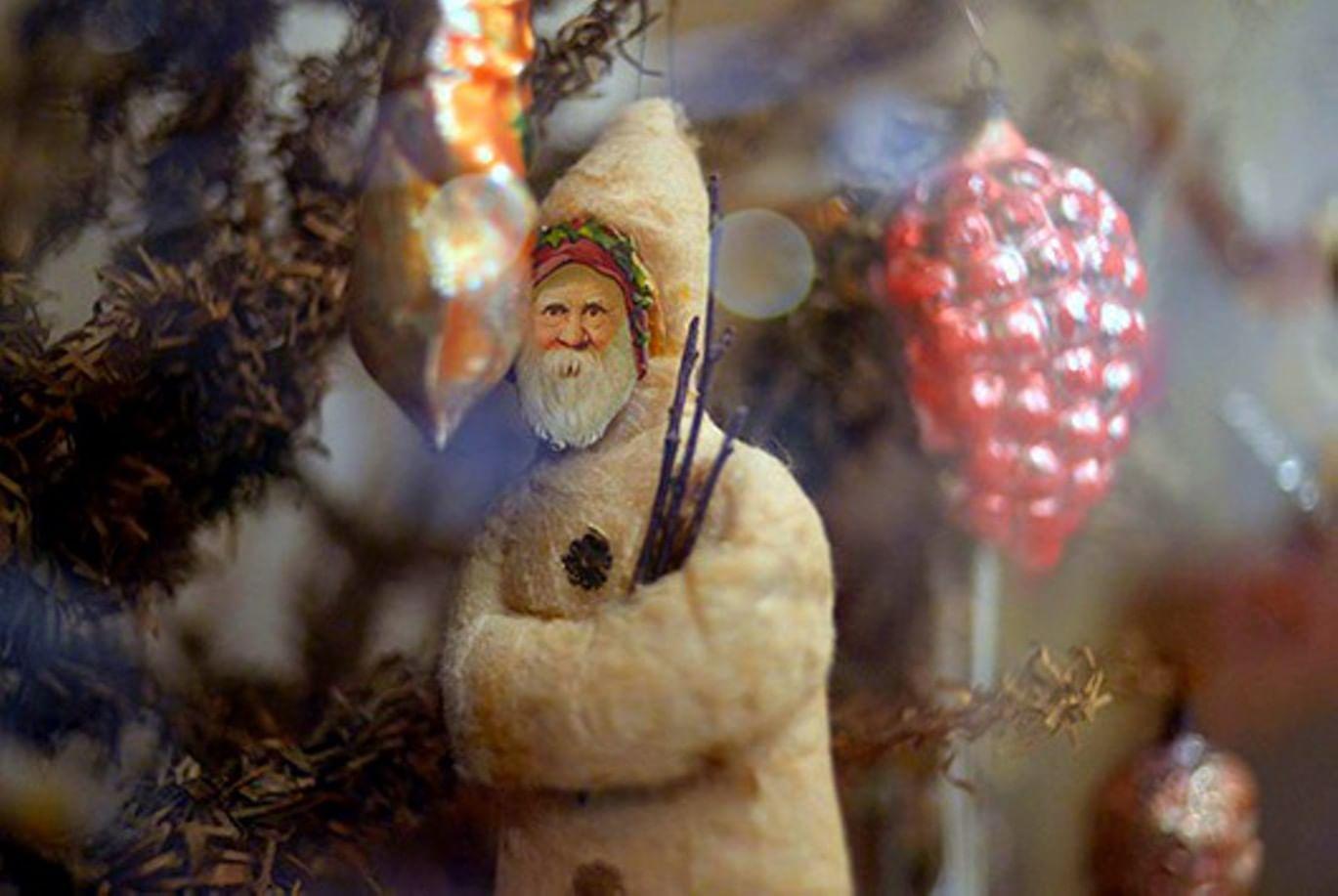Старинные игрушки для елки своими руками