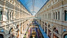 ГУМ — живой музей в центре Москвы