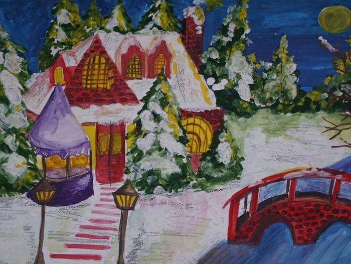 Открытие выставки «Зимние узоры»