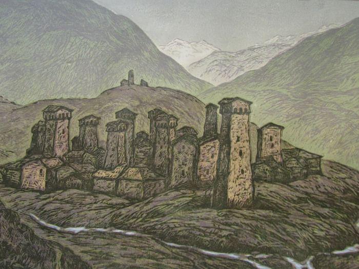 Юбилейная выставка Виталия Воробьёва