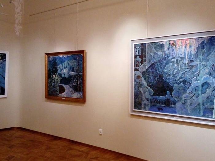 Выставка «Белые снега России»
