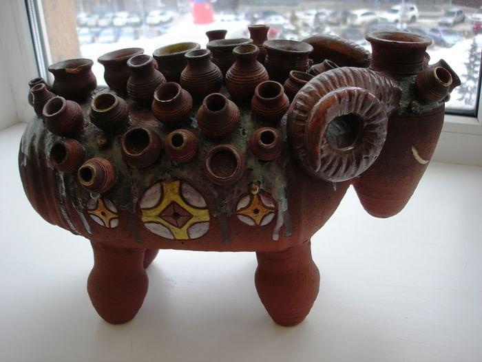Выставка художественной керамики