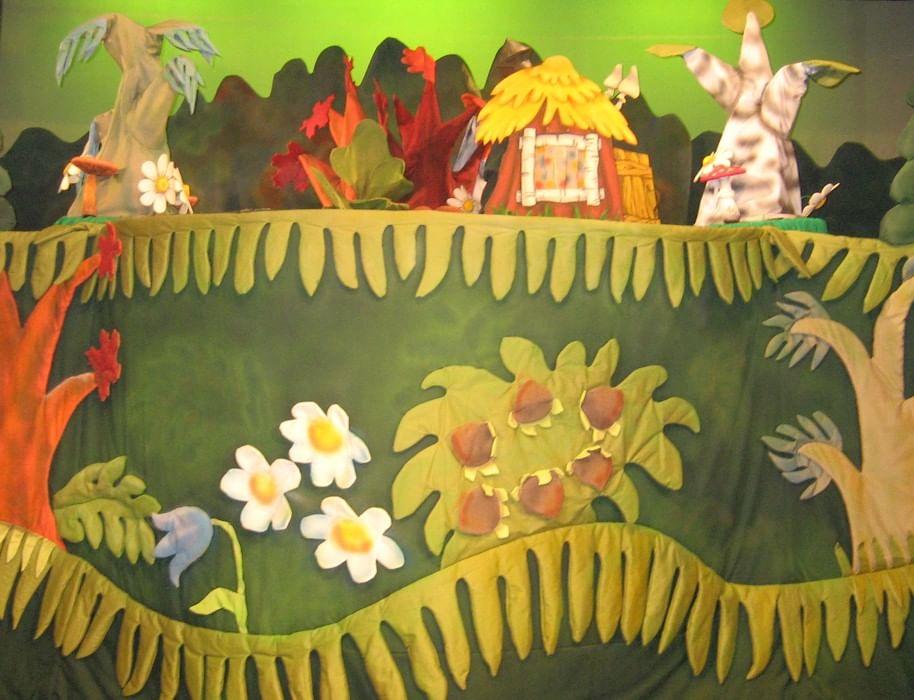 Декорации к кукольному театру своими рук 16