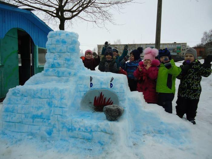 Конкурс снежных фигур «Зимние фантазии»