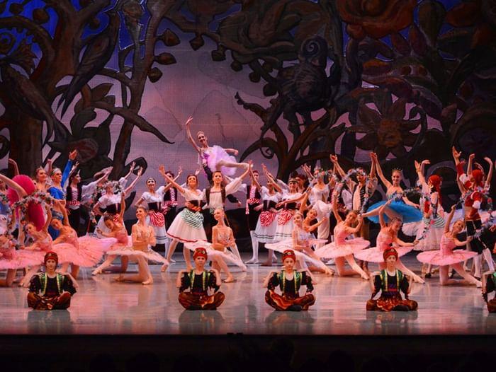 Отчетный спектакль Новосибирского государственного хореографического училища