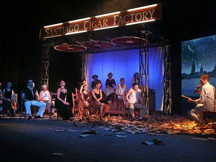 Спектакль «Анна в тропиках»