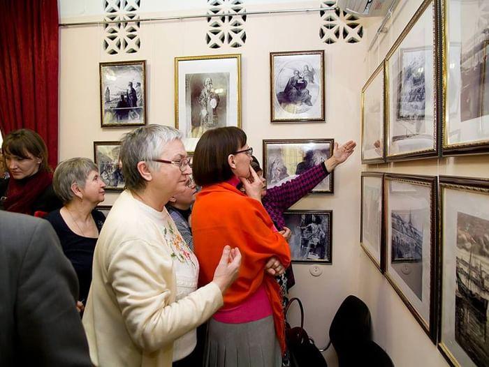 Выставка «Воспоминание о храме. Гостино-Николаевская церковь»