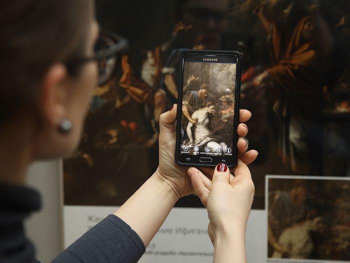 Выставка «Искусство реставрации с элементами дополненной реальности»