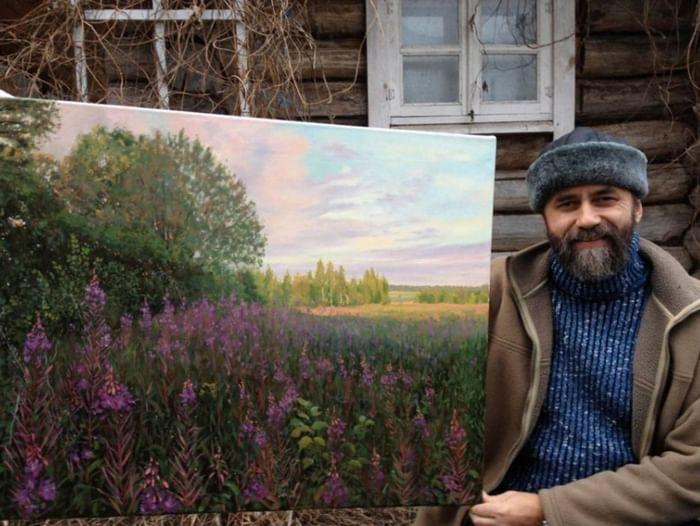 Выставка «Пейзажи Георгия Парфёнова»